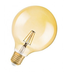 Lámpara LED VINTAGE 1906 GLOBE 51 E27 filamento GOLD regulable 6